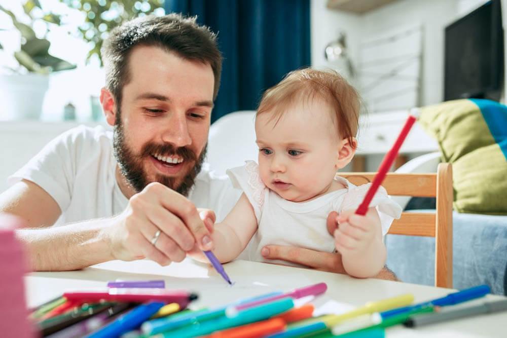 baby development drawing