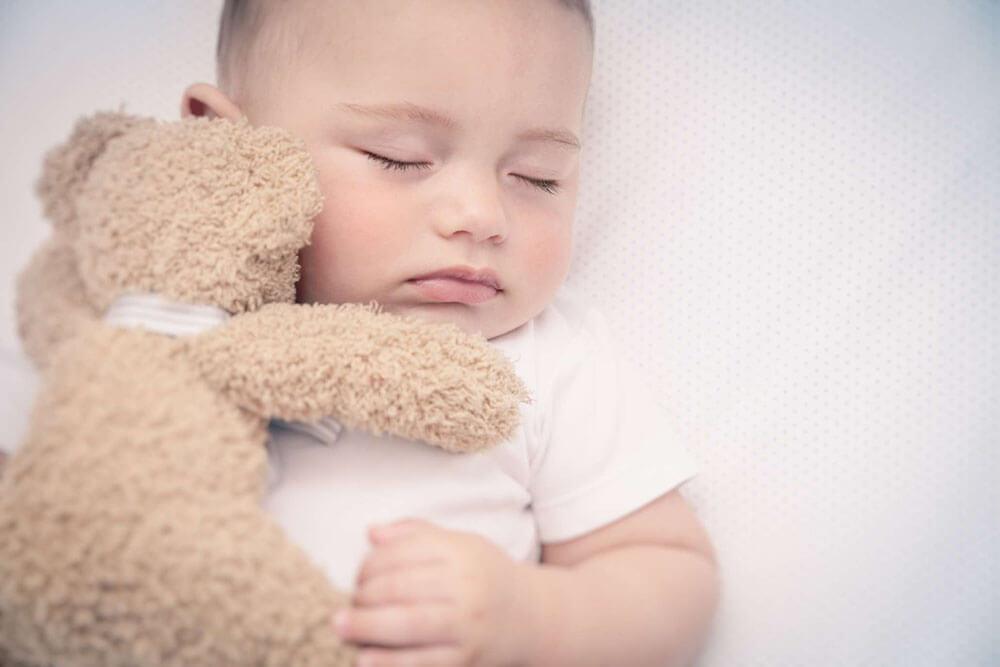 co-sleeping baby